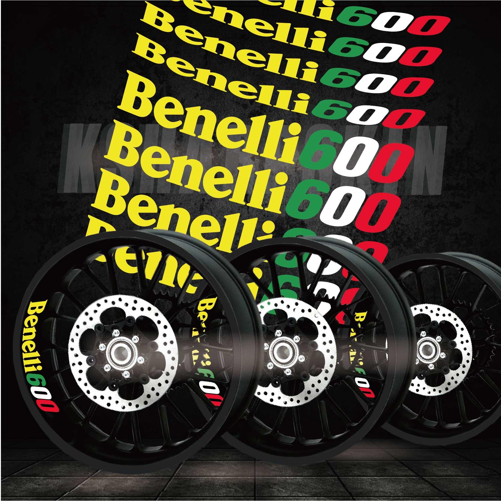 psler Moto Roues Jantes Int/érieur Autocollant pour Benelli TRK 502