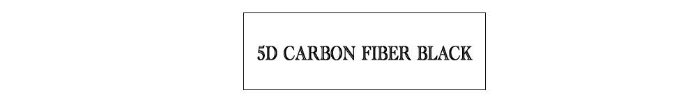 5D carbon fiber black