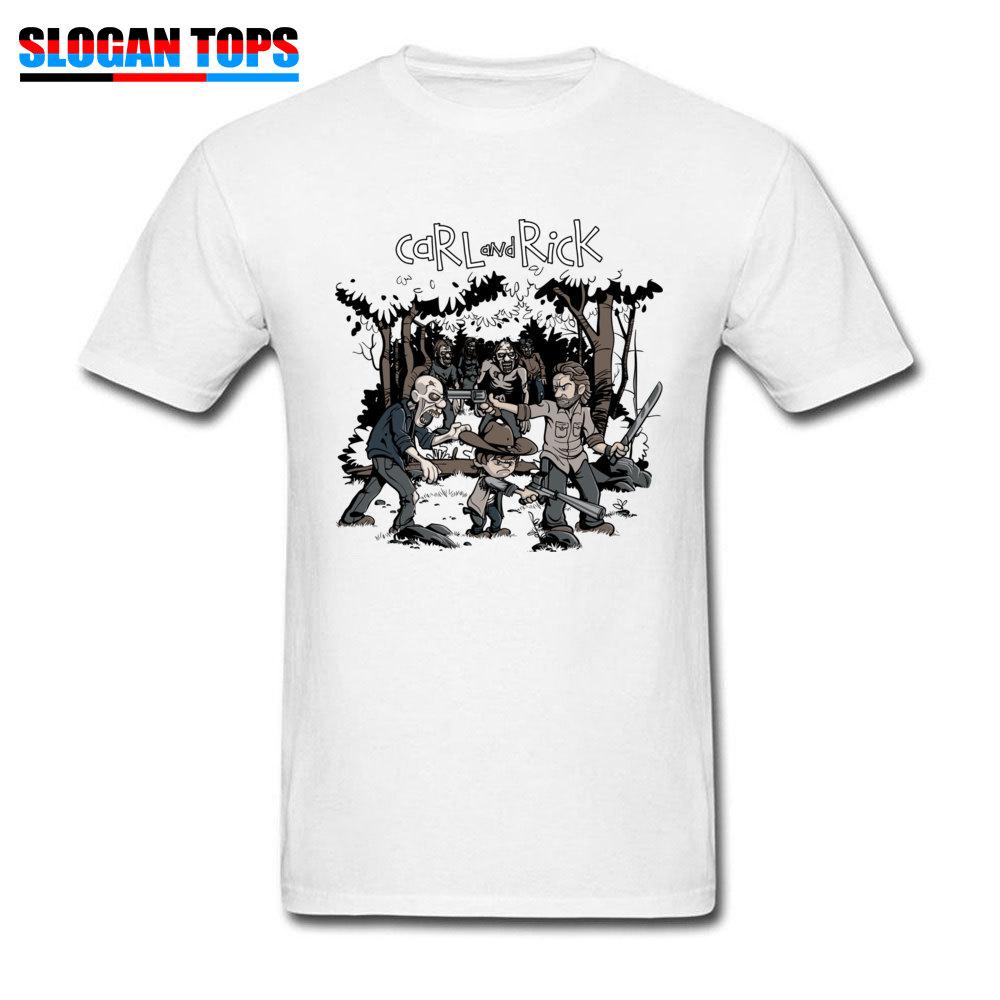 The walking Dead Daryl Rick Brother Summer Men Women Short Sleeve Tee Shirts Top