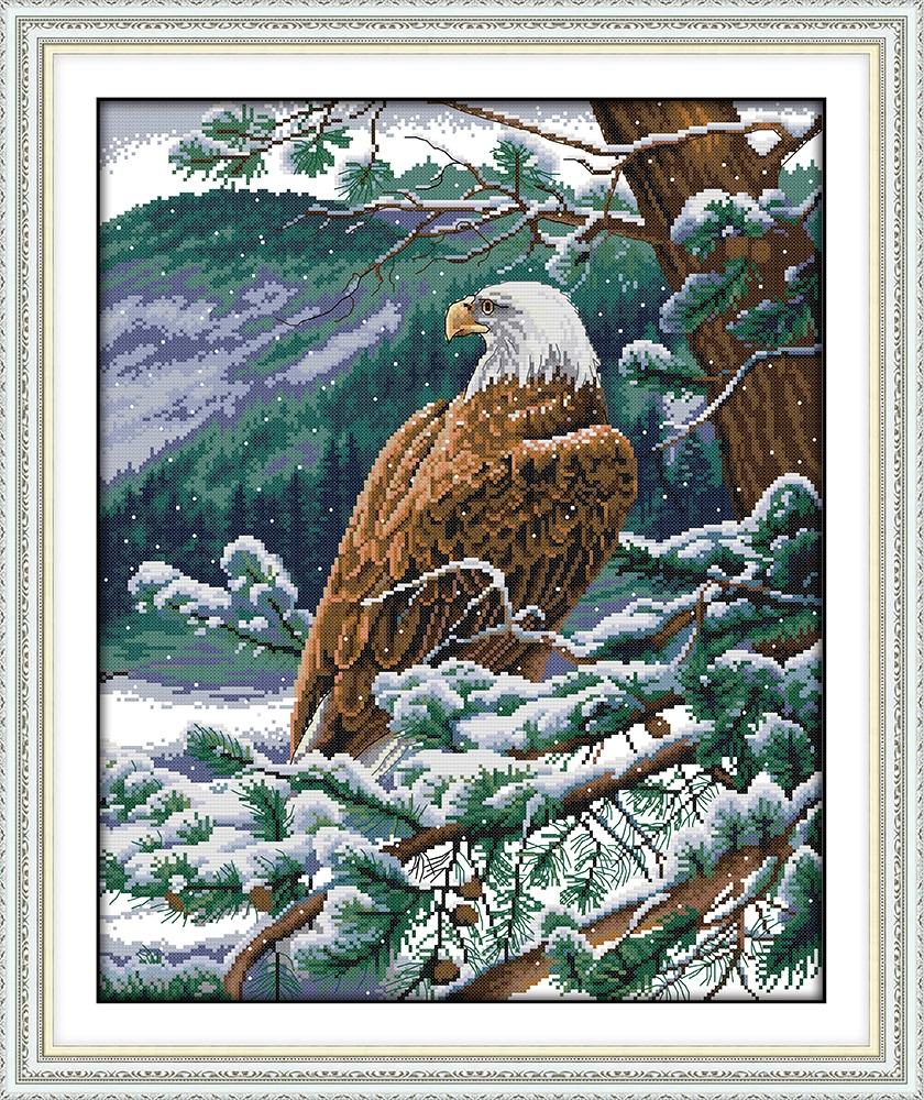 Nuevo Panel Grande Águila Americana Tela Colgante De Pared Decoración Edredones material #6