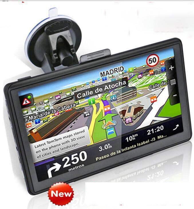 7/'/' Truck Car GPS Navigation System 4GB SAT NAV Bluetooth US Map Backup Camera E