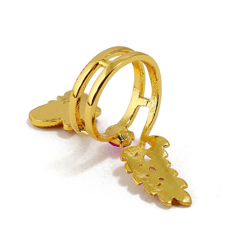 Butterfly micro-open ring ladies fashion index finger ring accessories