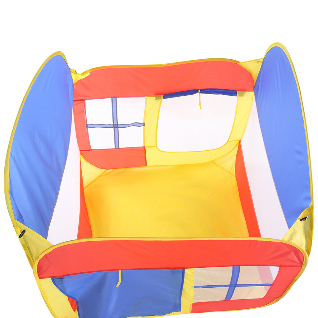 Folding Children Kids Play Castle Tent In/Outdoor Toy House for Boys Girls