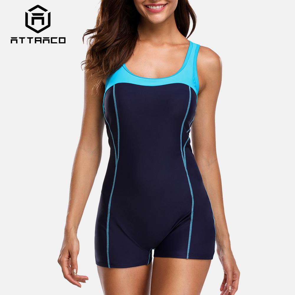 Knielanger Badeanzug Dew-back Damen Einteiliger Wasserdicht Schnell Trocknend