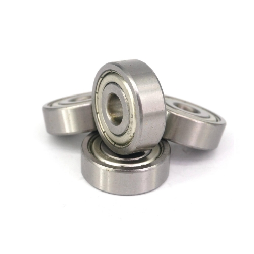 Deep Groove Ball Bearings R8ZZ Z2 1//2 X 1-1//8 X ​​5//16 inch Carbon Steel with Double Shielding 5 Pieces