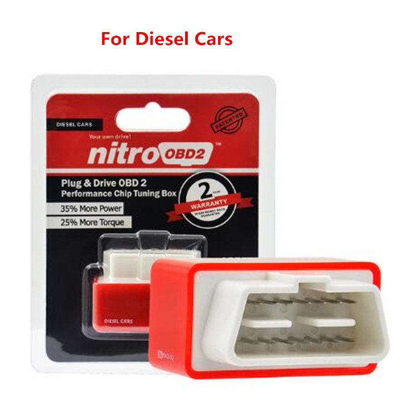 NEW OBD2 Plug /& Drive OBD2 Performance Chip Tuning Box For Diesel Car auto SUV