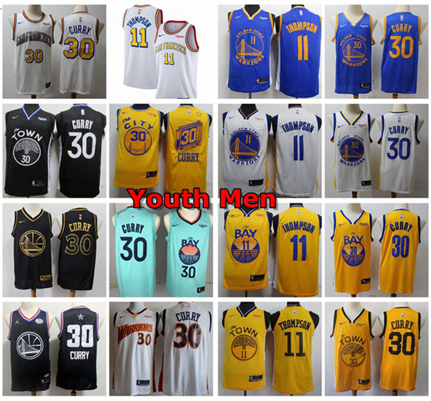 STEPHEN CURRY 30 2 3-8Y BOY GIRL BASKETBALL JERSEY TEE T SHIRT GOLDEN STATE