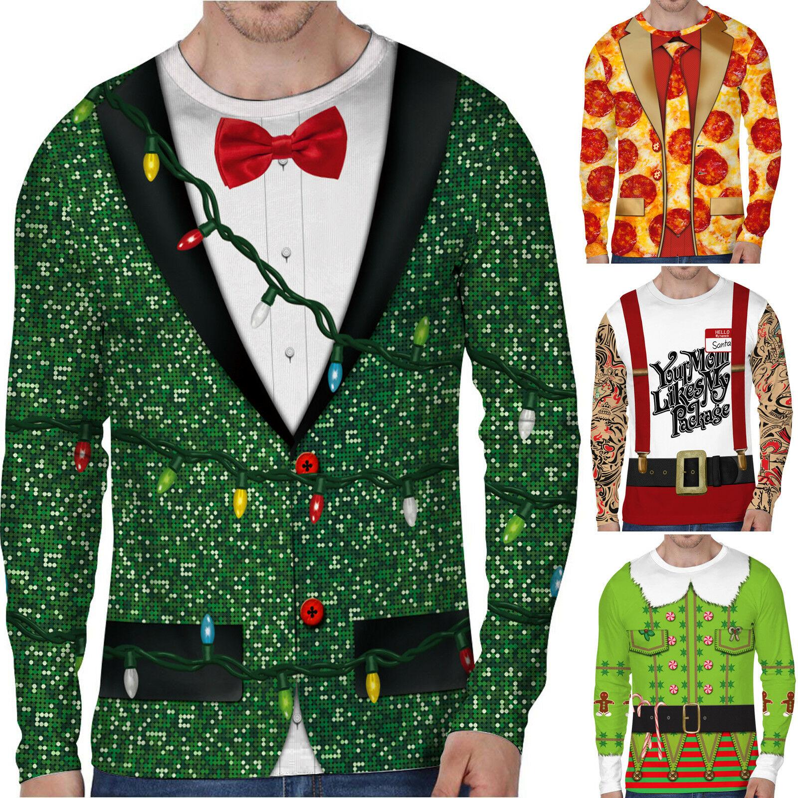Christmas kids boys children party shirt bow tie xmas elf santa father tree UK