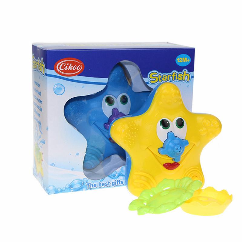 Bathing water bath toy starfish BABY sassy toys Swimming toys/_vi