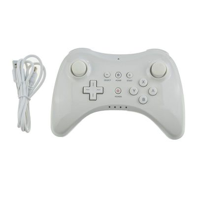 Controller wireless giochi Play Nintend Wii U Controller Pro USB Classic Dual Analog Bluetooth Wireless Remote Control