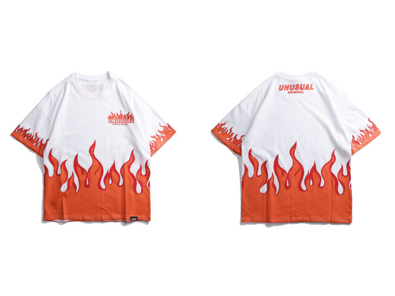 Fire Flame Printed Tshirts 2