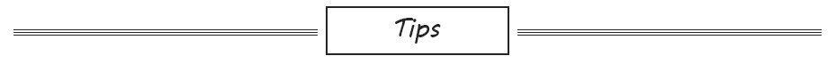 item tips