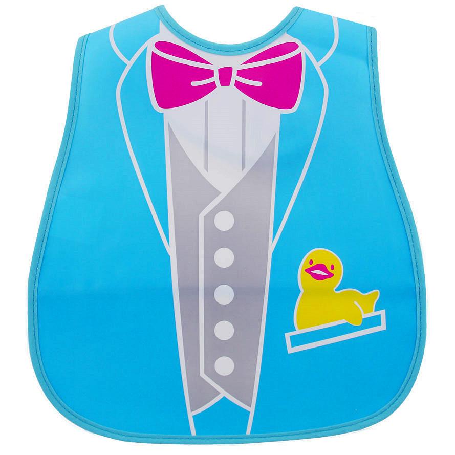 Impermeable de Dibujos Animados Sin Lavado EVA Bandana Bib Para Bebé Infante 1-6 Años de Edad Kids Boy Girl Stuff Burp Cloth Toddler bufanda al por mayor