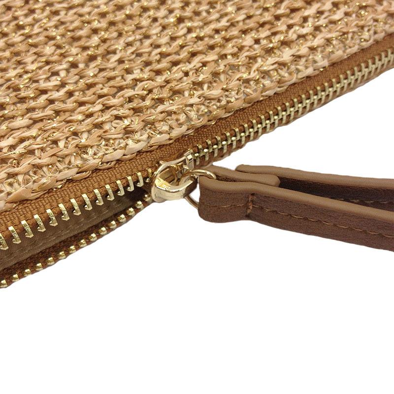 Women Clutch Bags Female INS Popular Summer Beach Straw Bag Lady Travel Mini Messenger Bags Casual Knitted Bolsa Tote SS3133 (10)