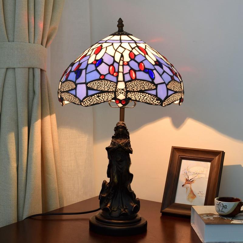 Extravagantes mesa lámparas modernas lámparas de mesa para el alféizar en la sala de estar