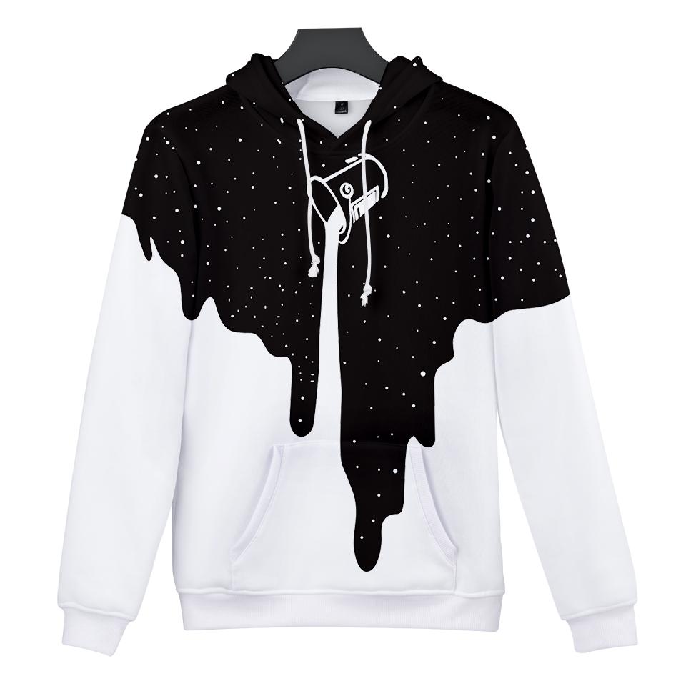 Soy Milk Space Galaxy 3D Hoodie Casual Sweatshirt Men Women Clothing