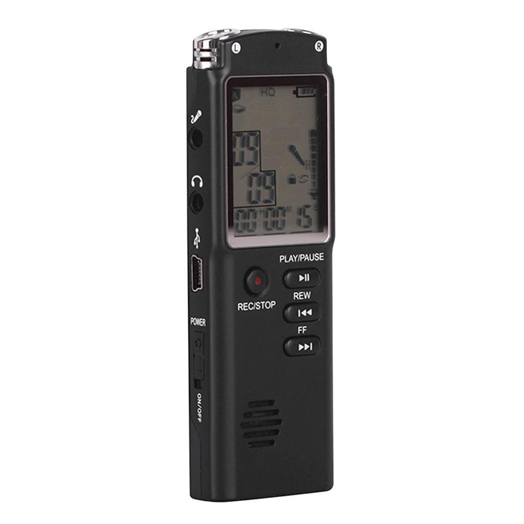 Nouveau Enregistreur vocal numérique HD Enregistreur de réduction de bruit intelligent USB Enregistreur de mode