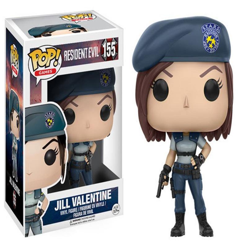 Toptan POP Yeni Varış Resmi Resident Evil NEMESIS JILL VALENTINE LICKER Action Figure Anime Model Koleksiyonu Oyuncaklar Hediyeler