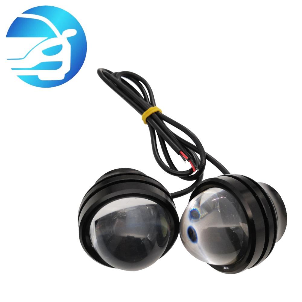 Eagle Eye 18mm 5730SMD High Power LED Fog Light DRL Backup Signal Bulbs Blue 20 Pieces