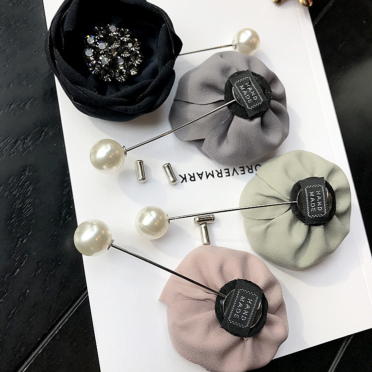 Embellishment Korean version of clasp//Simple suits and safety pins//exquisite brooch//corsage
