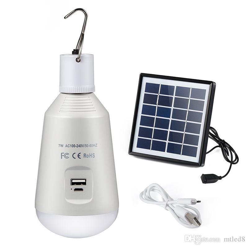 YOUG Lampe de poche portable portable avec lampe torche solaire pour escalade en plein air