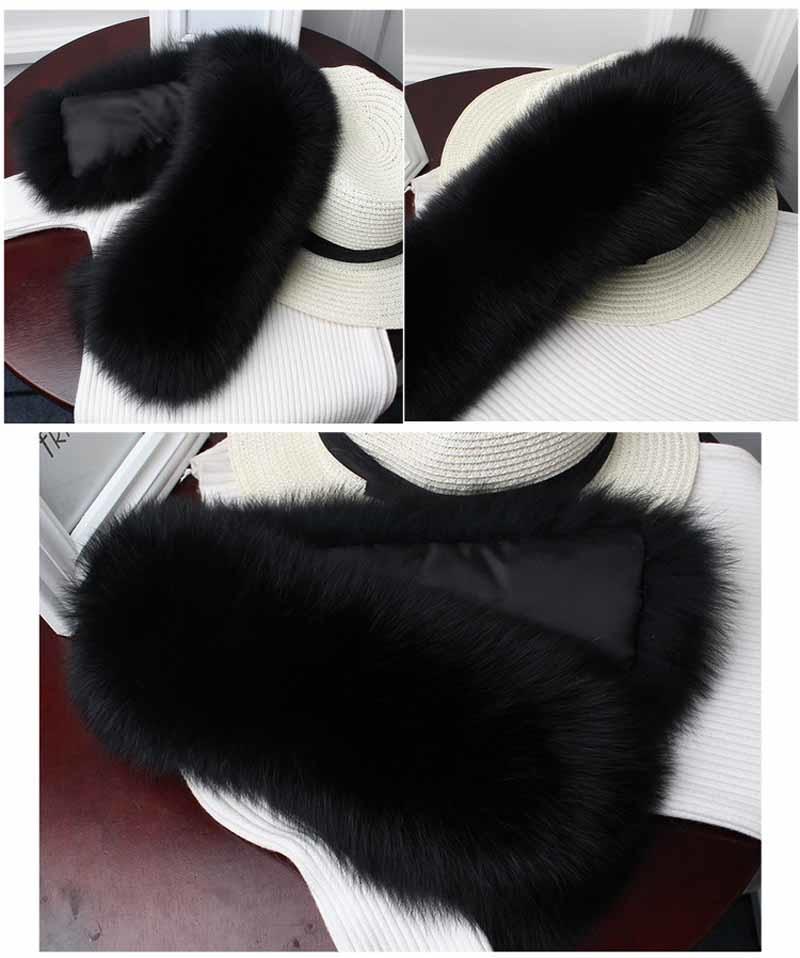 fox fur collar black 2
