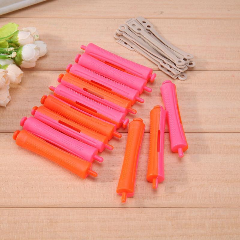 /Diy Perm Rod Salon Hair Roller Rubber Band Hair Clip Curling Curler Hairdressing Maker Styling Diy Hair Tool