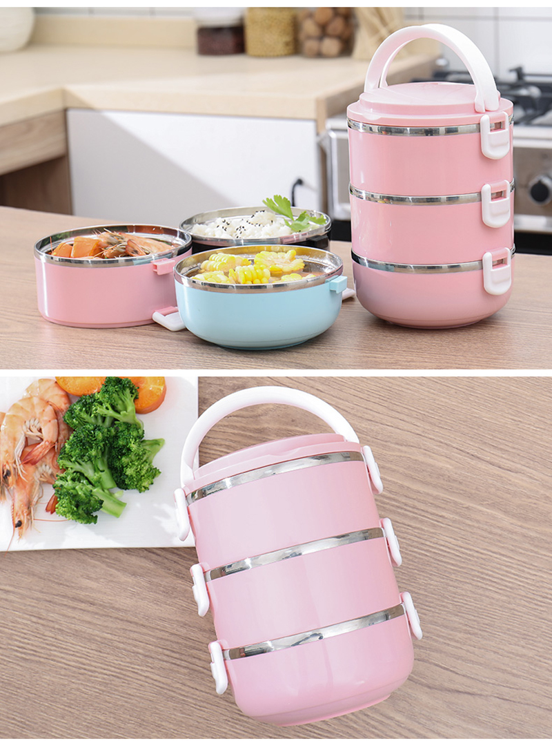 304 stainless steel multi-layer insulated lunch box 41