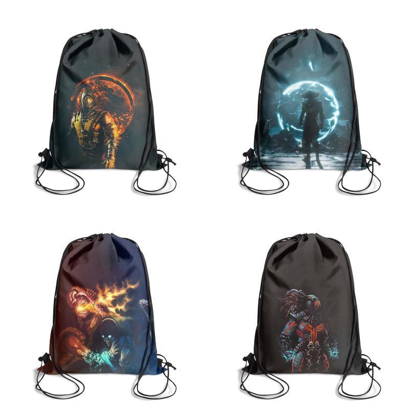 Cool Fire Flame Skull Sport Waist Bag Fanny Pack Adjustable For Hike