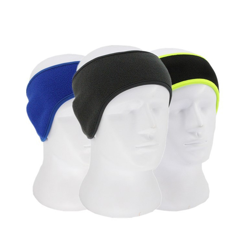 Men General Polar Fleece Neck Winter Warm Headband Scarf Couple Gift