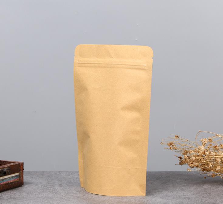 Sacchetto di carta Kraft marrone BLOCCO INFERIORE Borsa Picnic Pranzo Deli Sacchetti 2 taglie disponibili