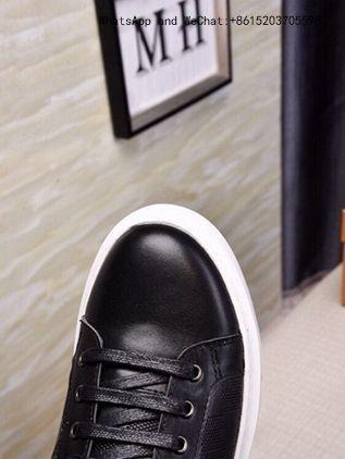cb48a1ec9 ... Merkmak inverno sapatos casuais de pele de couro quente dos homens plana  para o homem marca ...
