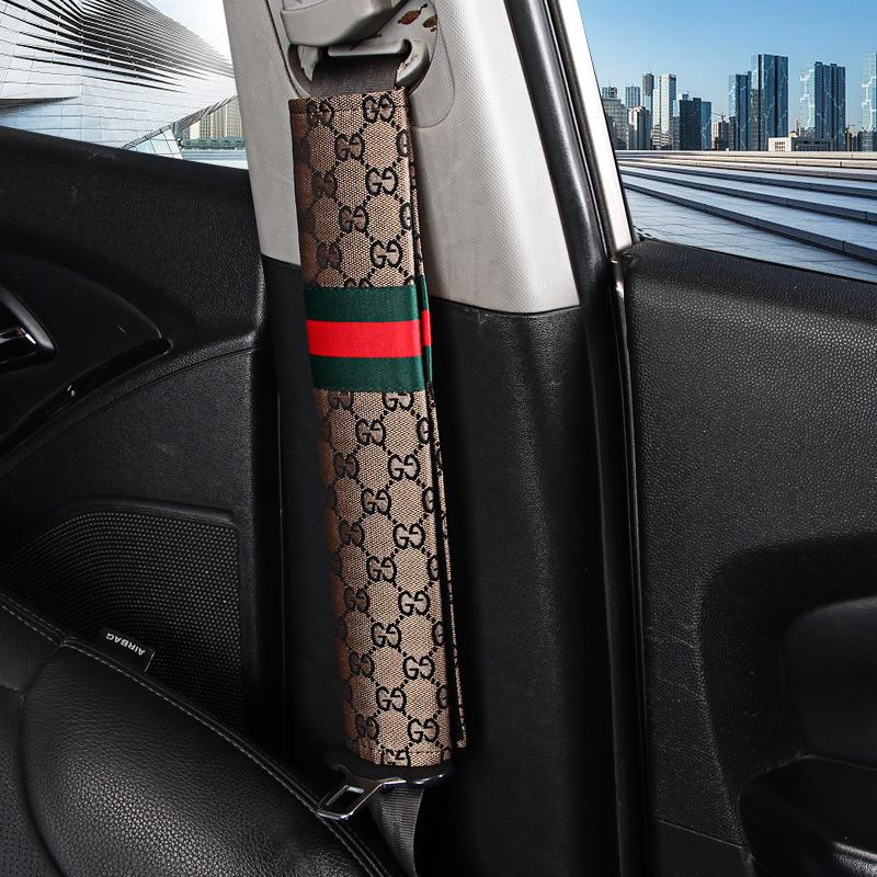 2 x Auto Sicherheitsgurt decken Schulter Pads Gurt für Mercedes-Benz