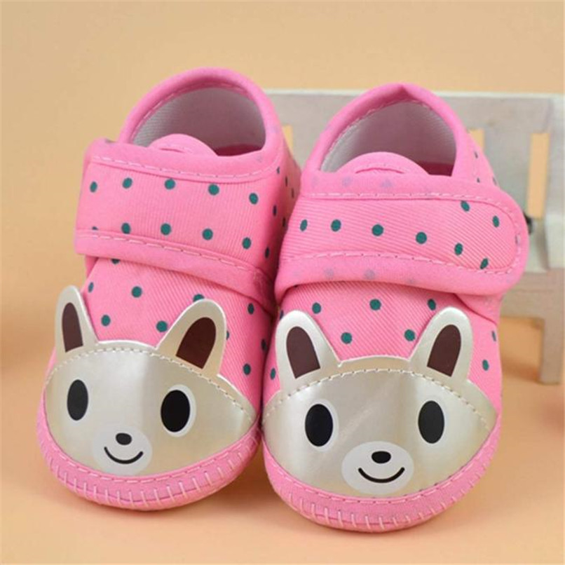 Newborn Girl Boy First Walker Soft Sole Crib Toddler Shoes Canvas Sneaker NDA84L16 (12)