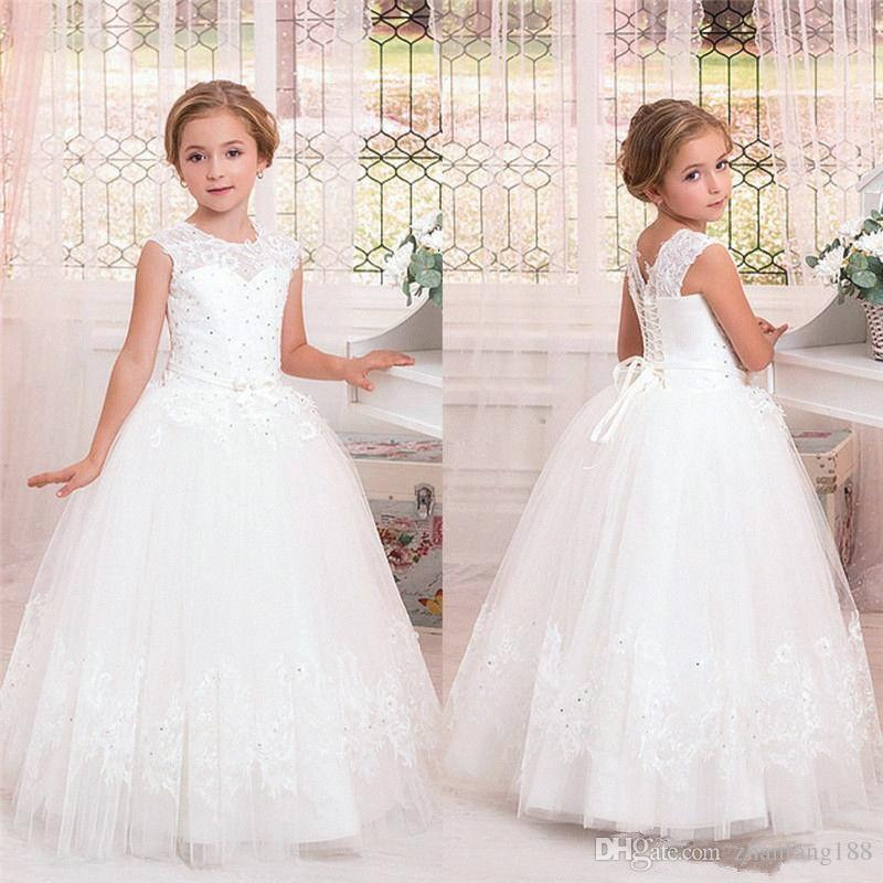 Half Sleeves Flower Girls Dress Party Pageant Birthday Prom Wedding Bridesmaid