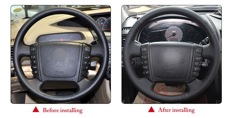 for Ssangyong Rodius steering wheel cover