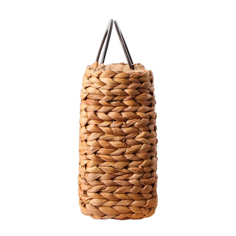 Women Vintage Rattan Handbag Female Bohemian Summer Beach Straw Bags Lady Simple Weave Bag Handmade Casual Large Tote SS3032 (7)