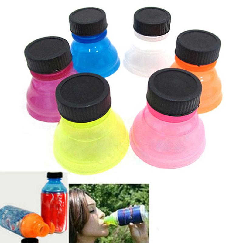 Protecteur Snap on Coupe du Distributeur d/'eau peut Cap Bottle Top caps cover Soda Saver