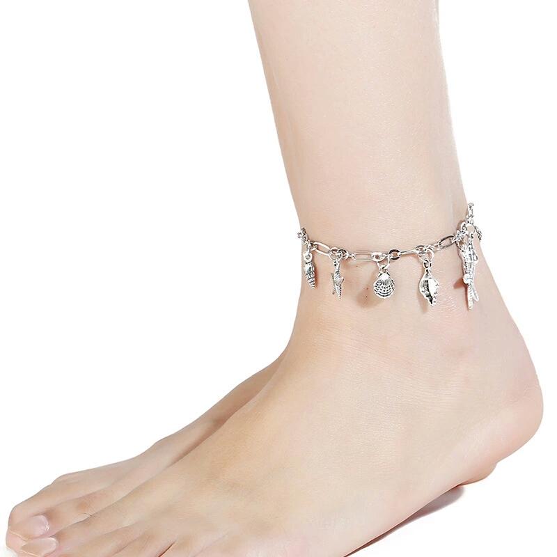 PULABO Pied Bracelet Bijoux Cheville Femmes Filles Cheville Jambe Cha/îne Charme Menottes Bracelet Mode Plage Bijoux Pratique Et Pratique Haute qualit/é S/écurit/é