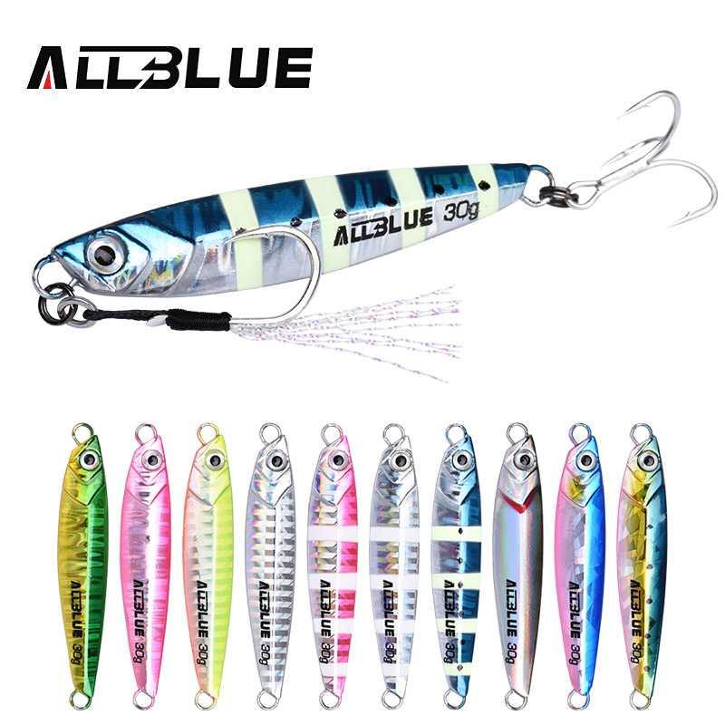 Jig Lure Lead Fish Hard Bait Deep Sea Metal Jigging Fishing Lures 40g 60g 80g Mixed Colors Pack of 6pcs