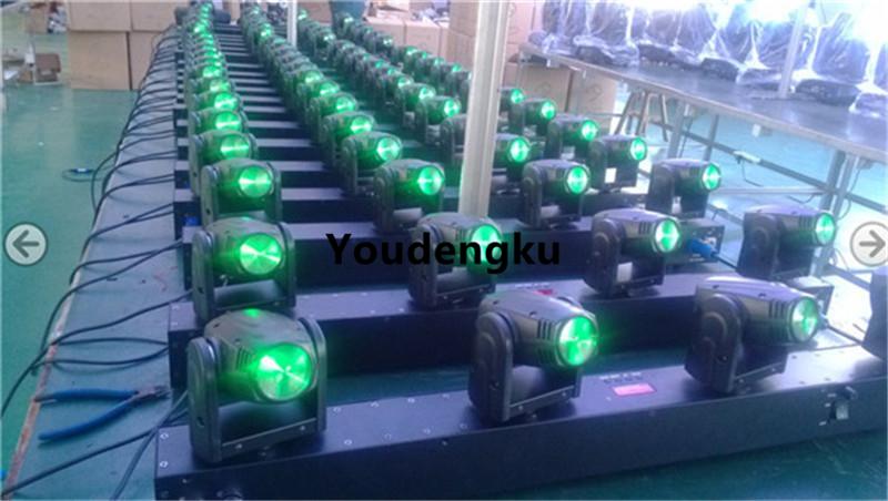 4 head moving light-green