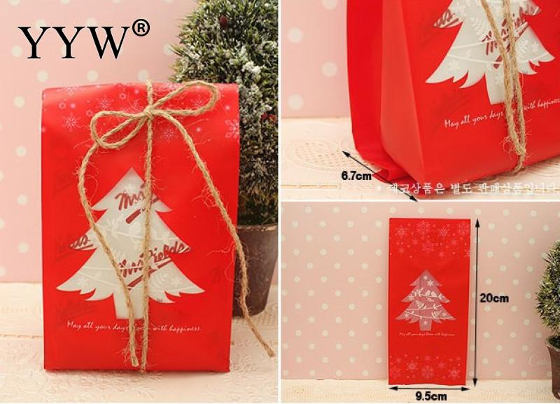 95x26x67mm Christmas Jewelry Gifts Box Green Red Christmas Tree Packaging Bracelets Earring Necklace Gift Bags for Jewelry