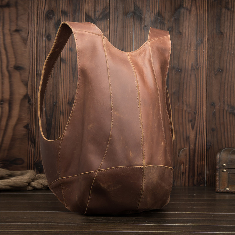 Man Woman Backpack Genuine Leather Shoulder Anti-theft Back Zipper Ipad Phone Pocket Pouch Business Travel Mochila Escolar Gifts Y19061004
