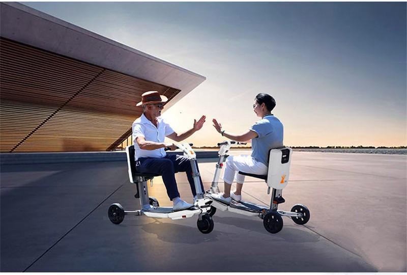 Disability Electric Scooter 3 Wheel Electric Scooter For Elderly Disabled Folding Electric Wheelchair (31)