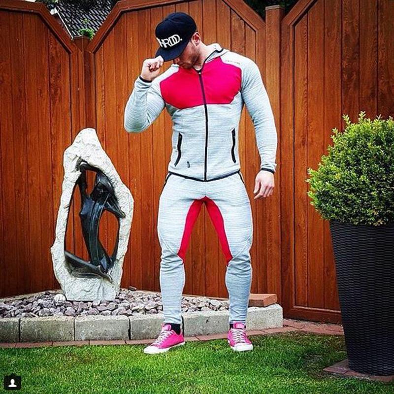 2018-Men-s-Sportswear-Trainingspak-Mannenr-2-Piece-Set-Sporting-Suit-Jacket-Pant-Sweatsuit-Men