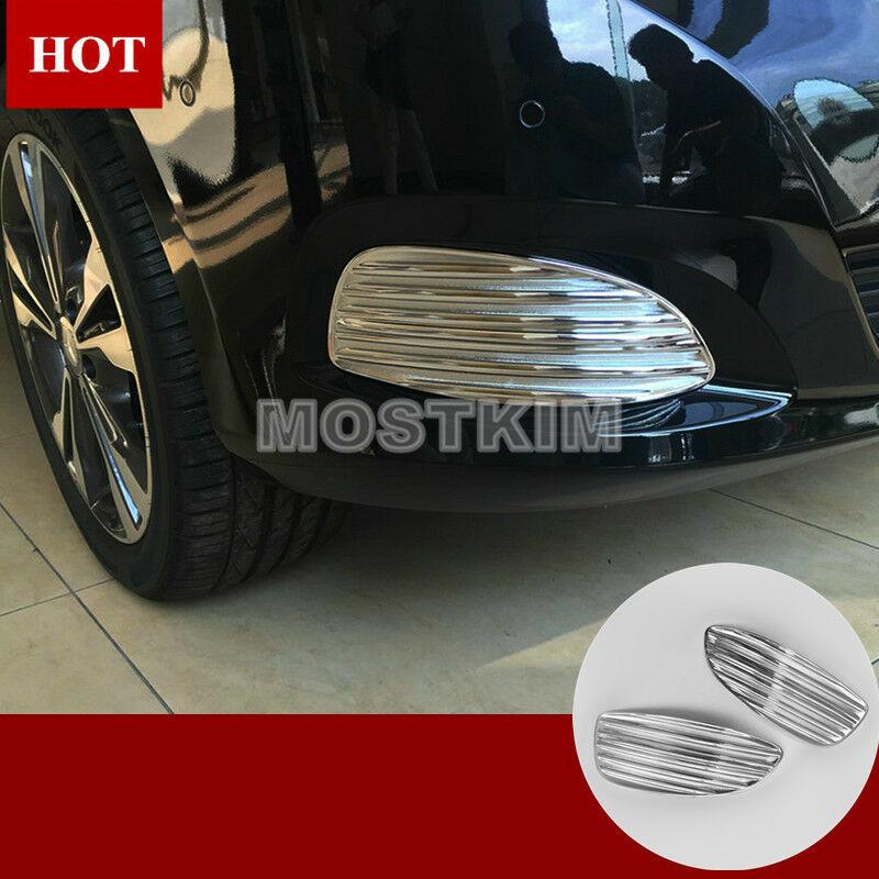 per XC60 2018 per tettuccio anteriore in acciaio inox Copertura per altoparlanti 2 pezzi 2019