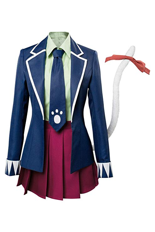 Hot Sell Fairy Tail Mavis Vermilion Luxury Long Dress Uniform Cosplay Costumes
