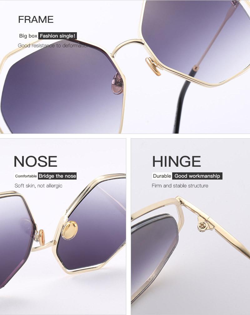 2018 News Goggle Rimless Sunglasses (19)
