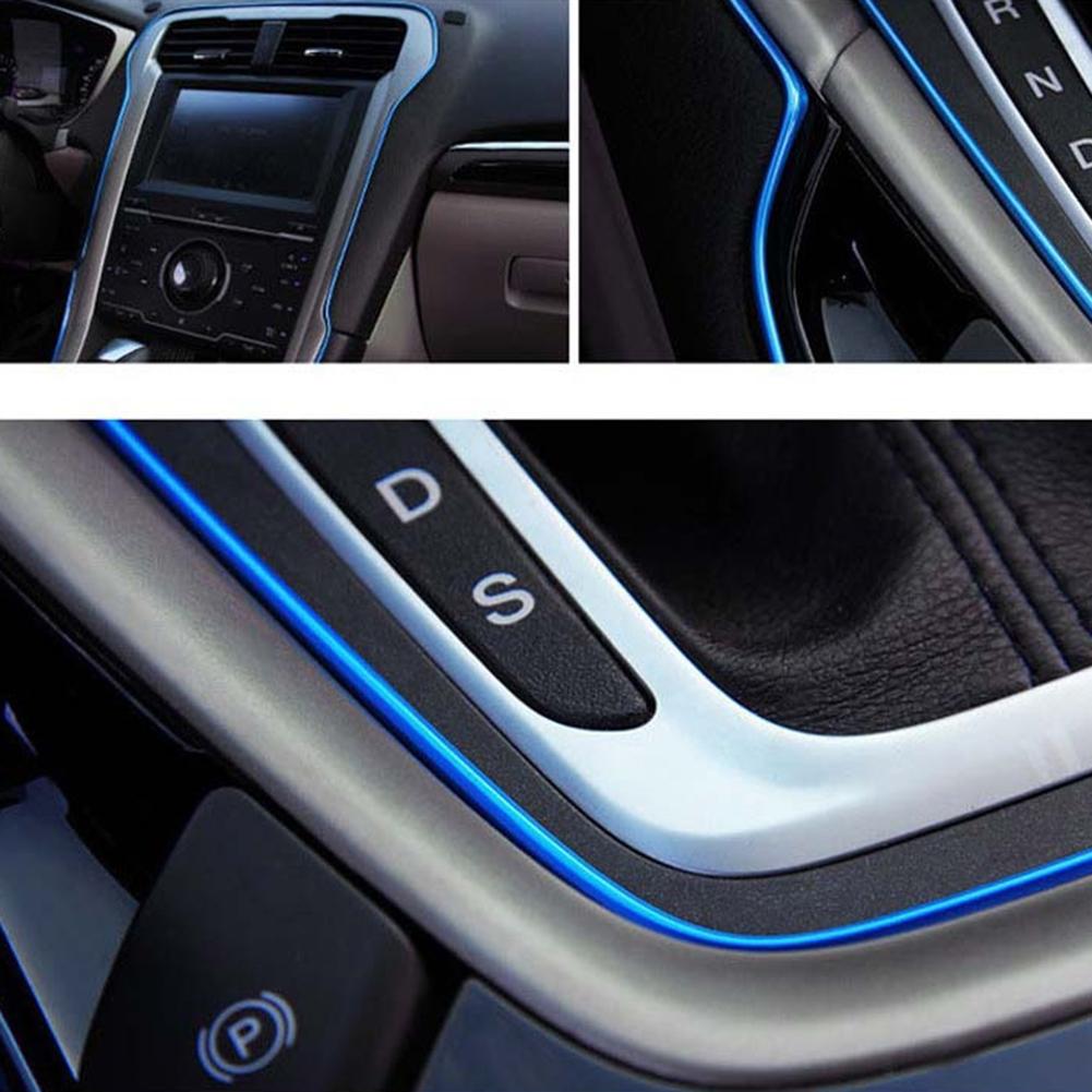 Ajuste Flexible 5 m para Coche Vehículo Interior Exterior Moldeo Tira Decorativa