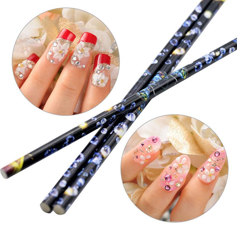 Nail Art Tools Rhinestones Picking Crystal Pencil Pen Picker Nail Art Decoration Dotting Tool Make Up